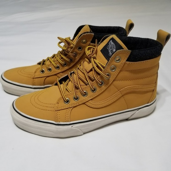 badf9d98063529 Vans Sk8-Hi MTE Honey Wheat Timberland size 9. M 5ac01bdf3a112e8b87b28d21